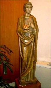 9:15 p.m.: St. Joseph statue.