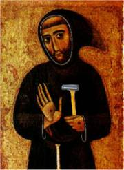 St. Francis sez: 'Please properly dispose of all used razors!'