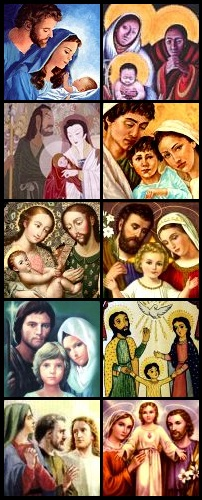 Just a few of my fave Holy Family images