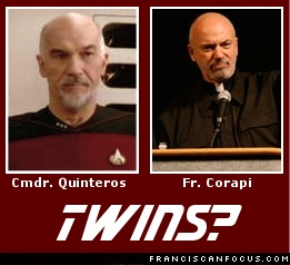 Cmdr. Quinteros and Fr. Corapi: Twins?