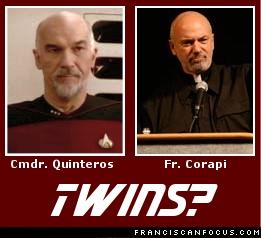 Cmdr. Quinteros and Fr. Corapi: Twins?