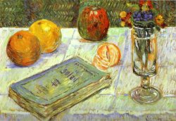 'Still Life with a Book' by Paul Signac (1883)