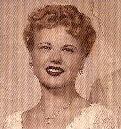 My mom on her wedding day