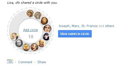 My Saintly Circle