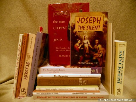 A stack of Josephy goodness! (And these aren't even all of my Josephite books!)